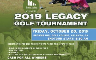 2019 Legacy Golf Tournament Registration